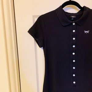 🦄Talbots collar shirt dress with buttons size S